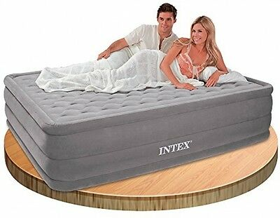 Intex Ultra Plush Queen Size Airbed with Built in Electric Pump (66958) Brand