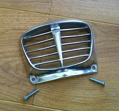 Lambretta S/3 Highly Polished Alloy Horn Grill. Horncasting Grill . New