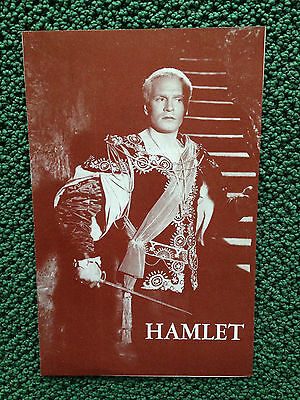 Theatre Program From Shakespeare's Hamlet Laurence Olivier, Jean Simmons