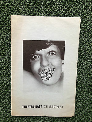 1977 CRAIG RUSSELL A MAN AND HIS WOMEN Theatre Program