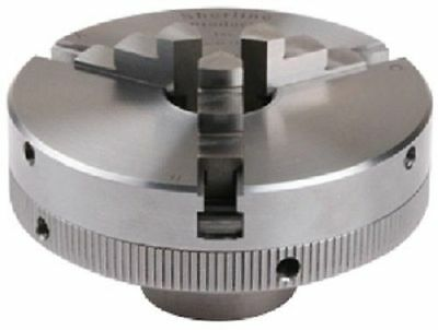 """Sherline 1043 3 Jaw Chuck with 1"""" x 8 TPI  Wood Lathe Rockwell Delta Jet New"""