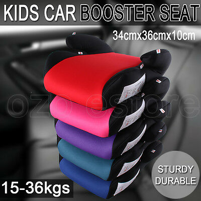 Car Booster Seat Safe Sturdy Baby Child Kid Children Fit 3 To 12 Years Safety OZ