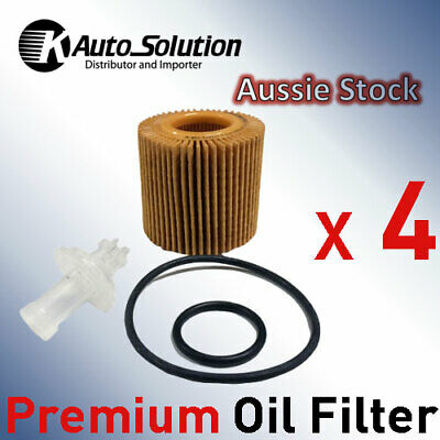 Oil Filter R2620P DAIHATSU Sirion Fits for TOYOTA Corolla ZRE152R ZRE153R 4PCS