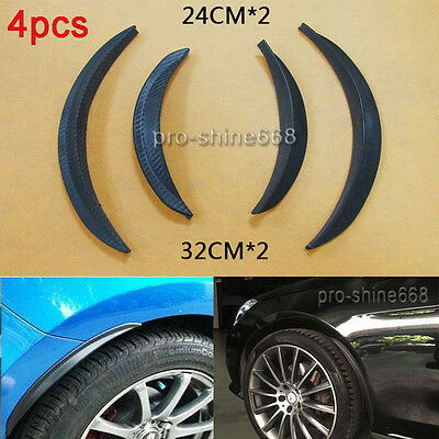 "13/"" Pair Diffuser Wide Body Fender Flares For VW Wheel Wall Panel Bumper"