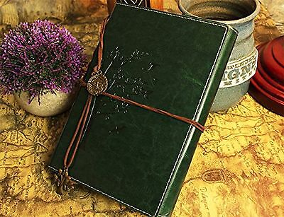 Valery PREMIUM Refillable Leather Notebook Retro Vintage Diary & Journal for Men