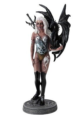 """11.25"""" Dragonsworn The Mistress By Ruth Thompson Home Decor Statue"""