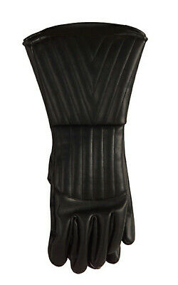 Adult & Child Darth Vader Gauntlet Gloves Starwars Fancy Dress Costume Accessory