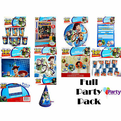 Bulk Birthday Party Pack Toy Story Decorations Supplies Favours Kit New