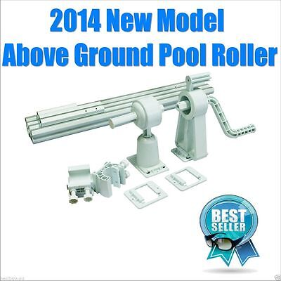 Above Ground Adjustable SWIMMING POOL Pools SOLAR BLANKET COVER ROLLER Reel  Kit