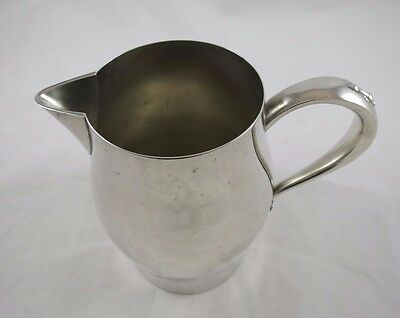 Vintage Paul Revere Reproduction Pitcher Oneida Silversmiths Silverplate 6.5""