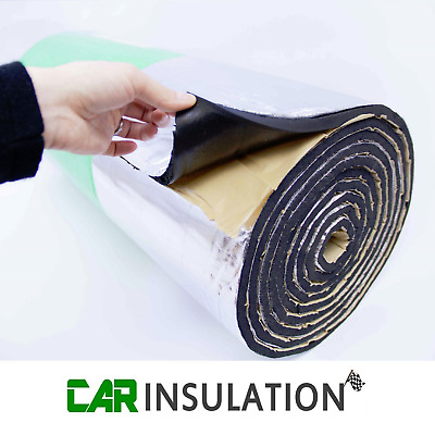 5m² GlassMAT™ Foil Faced Closed Cell Foam Insulation Sound Proofing Boat Car Van