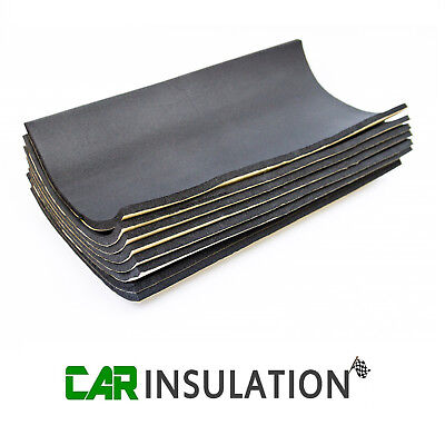8 Sheets Car Sound Proofing Deadening Van Boat Insulation Closed Cell Foam 10mm