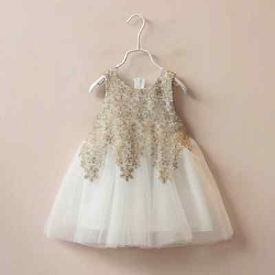 Baby Girls Toddlers Lace Flower Party Wedding Birthday Princess Tutu Dress