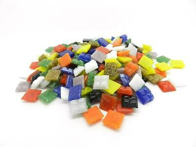 400 Vitreous Glass Mosaic Tiles for Arts & Crafts 10mm