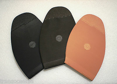 Genuine TOPY Shoe Repair Rubber Sole, 1 Pair, 2mm Thick, Ready to Glue
