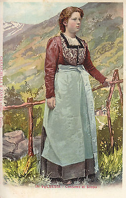 1596) In Valsesia Costume Di Scopa.