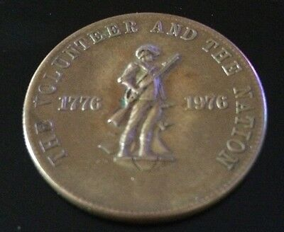 The Volunteer And The Nation Coin 1976