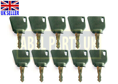 Jcb Parts 3Cx - Ignition Keys (10 Pcs)