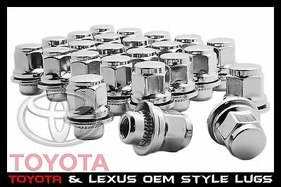 24 Pc Toyota Oem Factory Mag Lug Nuts | 12X1.5 | Also Fits Lexus Mag Seat Wheels
