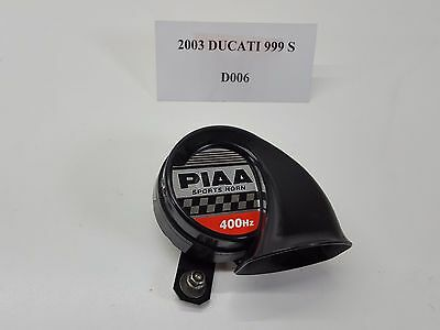 2003 Ducati 999 999S 400HZ Horn TESTED PIAA Sports 03-06 D006