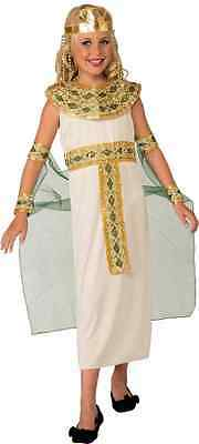 Cleopatra White Egyptian Queen Fancy Dress Up Halloween Child Costume  sc 1 st  PicClick & BLUE CLEOPATRA COSTUME Halloween Fancy Dress - $22.09 | PicClick