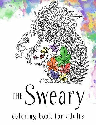 Filthy Swear Word Colouring Book For Adult Anti Stress Relax Art Patterns