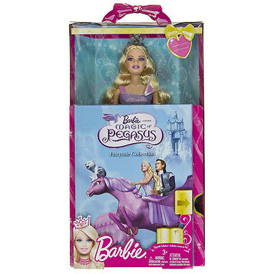 Barbie And The Magic Of Pegasus Doll & Book Set *nu*