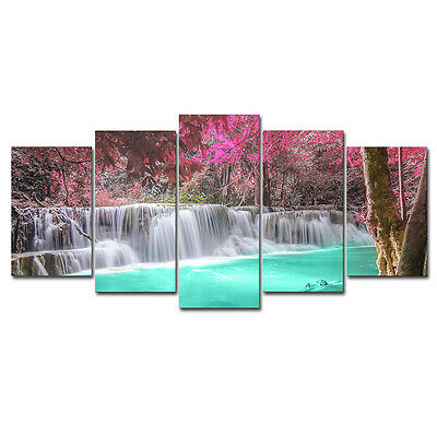 Modern Painting Picture Photo Canvas Print Wall Art Home Decor Landscape Forest