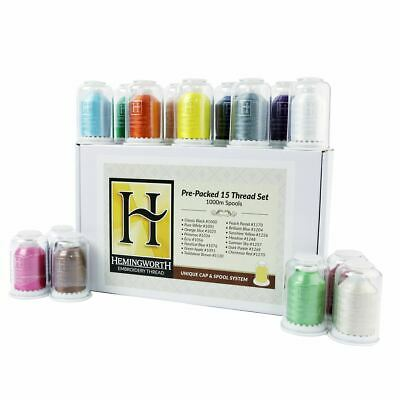 Hemingworth Pre-Packed 15 Thread Set