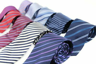PATTERNED Mens Neck Tie Striped Lines Dots Necktie Wedding Party CHOOSE DESIGN