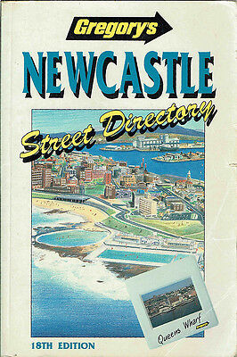 GREGORYS, NEWCASTLE STREET DIRECTORY,18th edition, VGC.