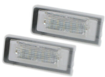LED CAN - Bus 6000K Number plate light Audi TT 8N Coupe Roadster 818 SMD White