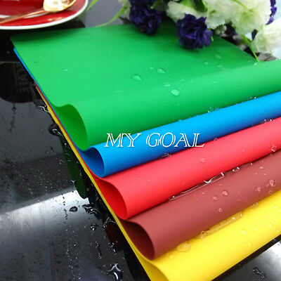Non-Stick Silicone Pastry Baking Bakeware Tray Oven Kitchen Placemat Sheet Mat