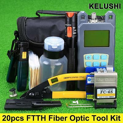 Fiber Cleaver FC-6S 10mW Visual Fault Locator FIiber cable tester power meter