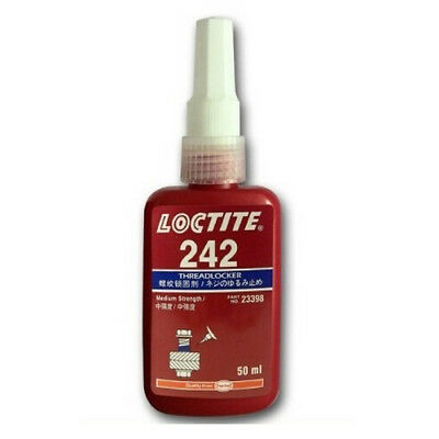 Loctite 242 Medium Strength - Threadlock - All Metal Adhesive -  10 Ml B/b 07/18