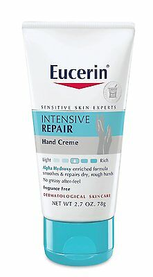 2.7oz Eucerin PLUS Intensive Repair Hand Creme Extra-Enriched Fragrance-Free