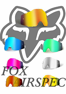 Goggle Shop MX lens for Airspec - Mirror: All Colours