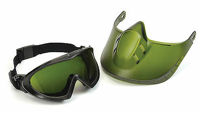 Pyramex Safety GG504TSHIELDIR5 Capstone Shield, IR5 lens & Welding Faceshield AF