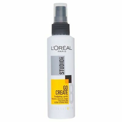L'Oreal Studio Go Create Sculpting Spritz Ultra-Strong Hold 150ml