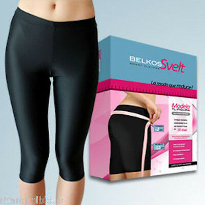 Belkos Svelt Legging 3/4 Capri - Slimming tight with microcapsules, no sweating