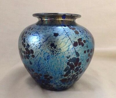 """Isle Of Wight Mulberry Summer Fruits Beautiful 4""""  Vase Very Good Condition"""