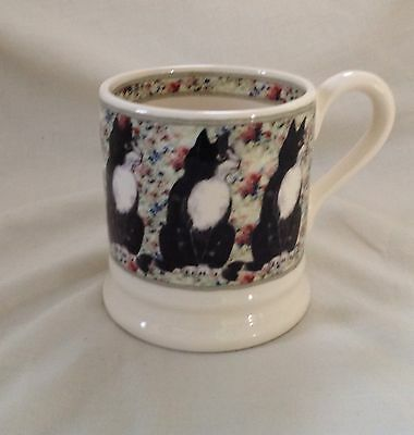 Emma Bridgewater Cats On Rugs 1/2 Pint Mug Excellent Condition First