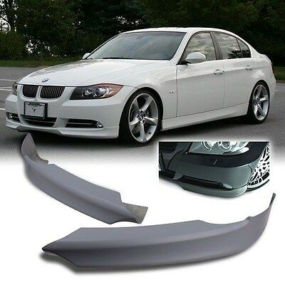 New BMW 3 Series 05-ON E90 M-Sport M3 Front Bumper Lip Wind Splitter