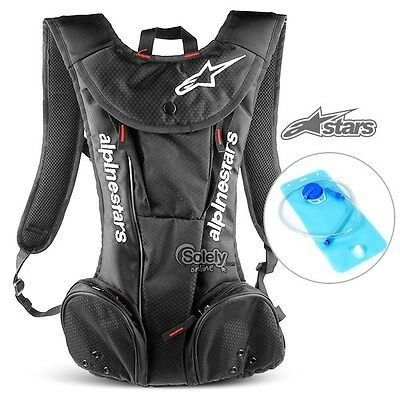ALPINESTARS Hydration Water Bag Pack Rucksack Cycling Hiking 2L Bladder Backpack