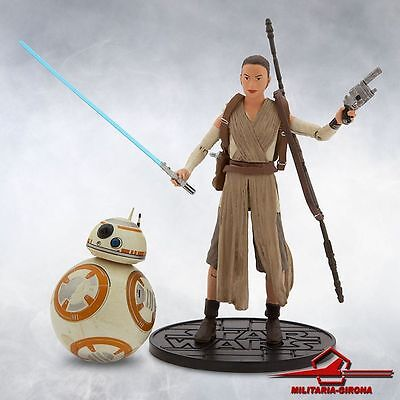 Rey& BB-8 Lighsaber Special Edition Elite Serie Diecast Action Figure Star Wars