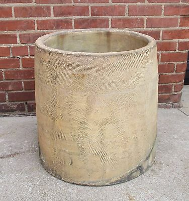 """LARGE Antique Mission Style Antique Signed""""Wheatley"""" Chimney Pot,Industrial Top"""