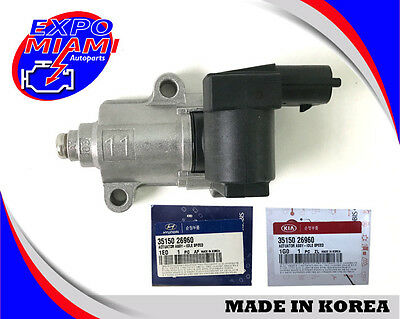 Genuine Fits 06-11 Hyundai Accent Kia Rio Idle Air Control Valve OEM 35150-26960