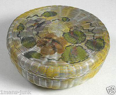 Lg Hand Painted Chinese Sewing Basket pg 78/Betty-Lou's PLUS BOOK Collectors