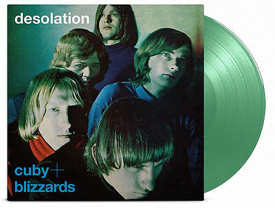CUBY + BLIZZARDS Desolation - 180G COLOURED  Vinyl LP  Numbered Limited Edition