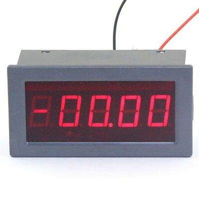 "DROK® 5 Digits 0.56"" Digital Micro Ampere/Amp Panel Meter +/- 0-199.99uA DC Low"